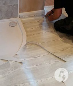 Walkers Carpets and Flooring wetroom flooring