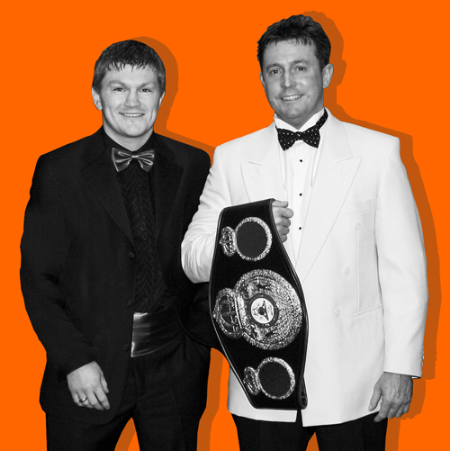 Keith Walker and Ricky Hatton